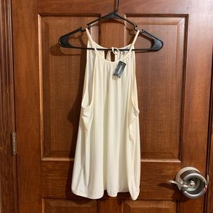 NWT! Express brand Tank Back Cut Out
